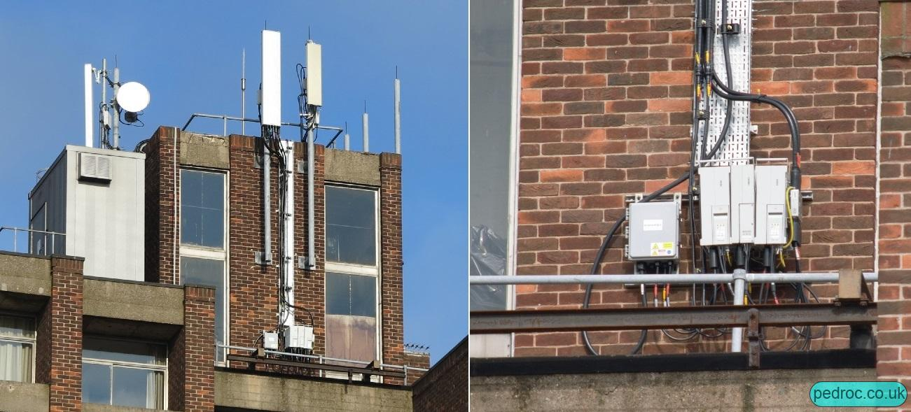 Hull Uni Mast that broadcasts EE L21, alongside five other LTE carriers.