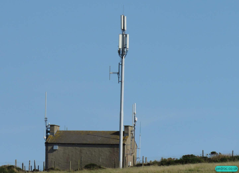 Cregneash, Isle of Man, Mast