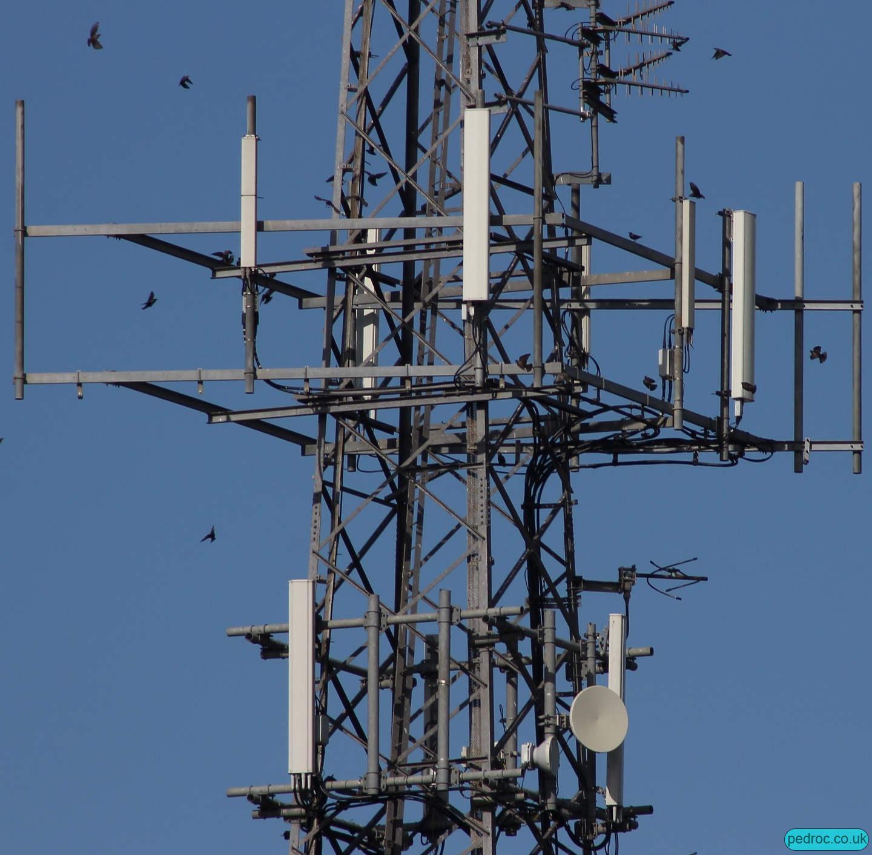Jurby UHF and Cellular Mast