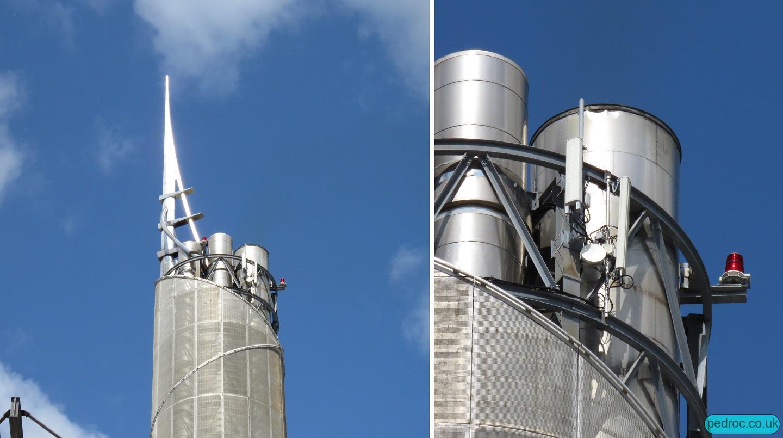 Pulrose Power Station Mast