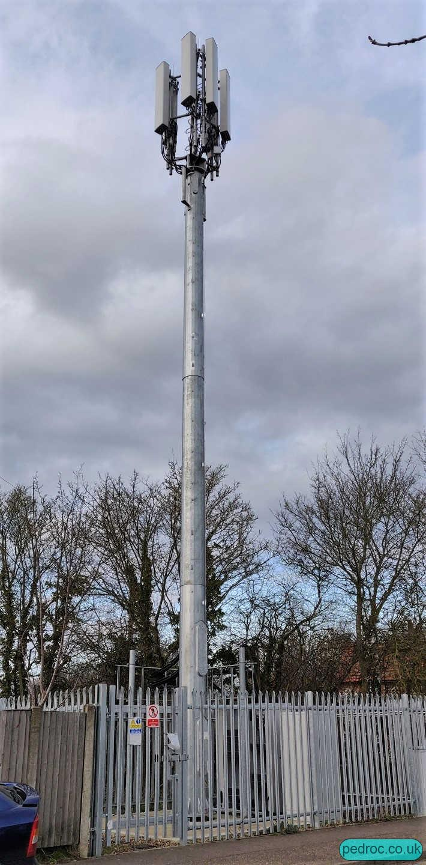 Holt VF/O2 Mobile Mast