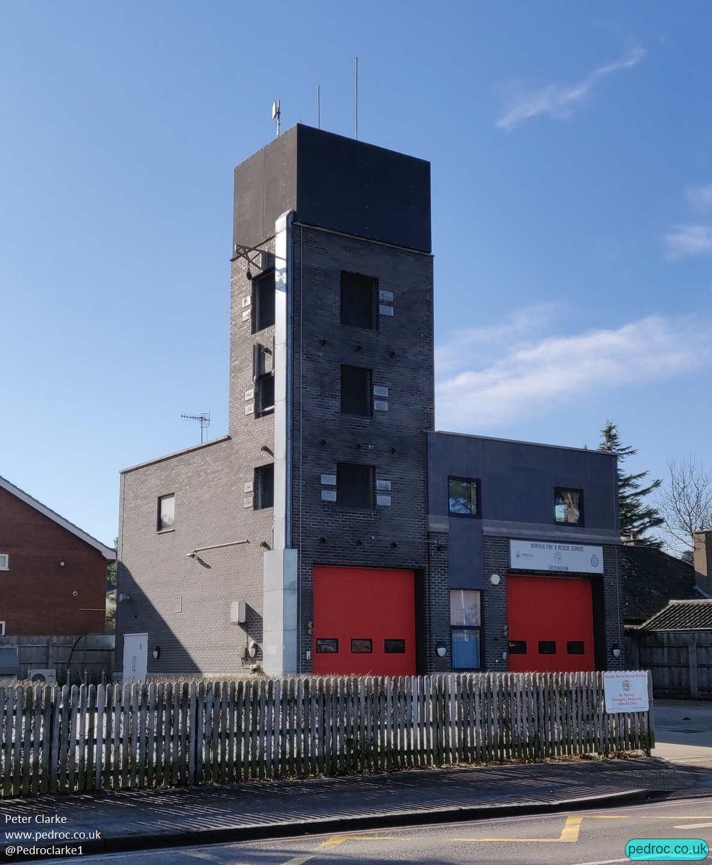 Sheringham Fire Station VF/O2 Mast