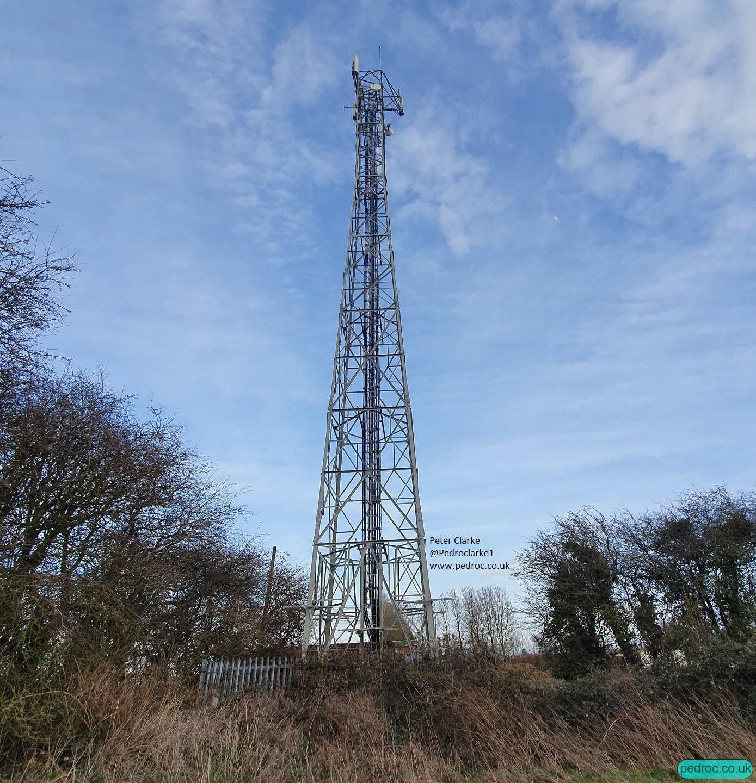 West Beckham EE/3 Mobile Mast