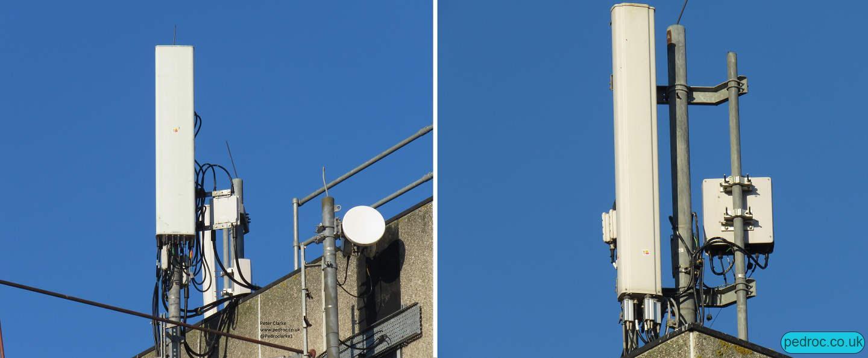 Antenna closeups of Pavilion House, Scarborough