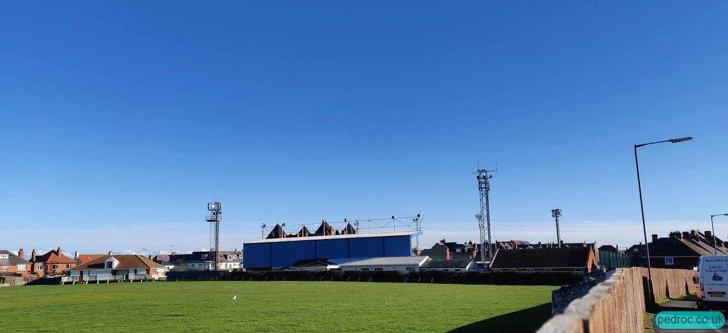 View of Whitby Town Football Club