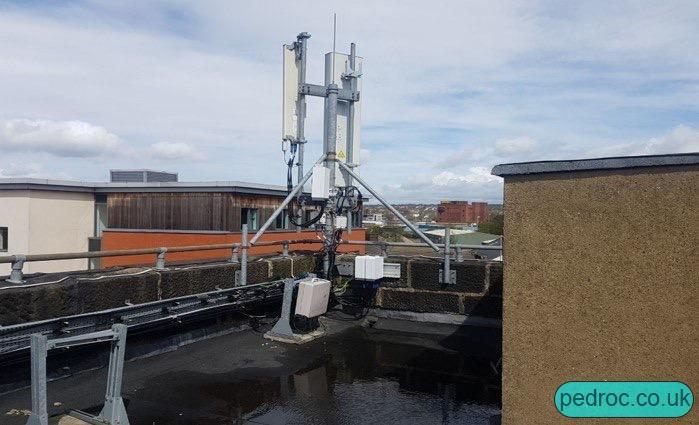Ericsson mast for O2 2300MHz