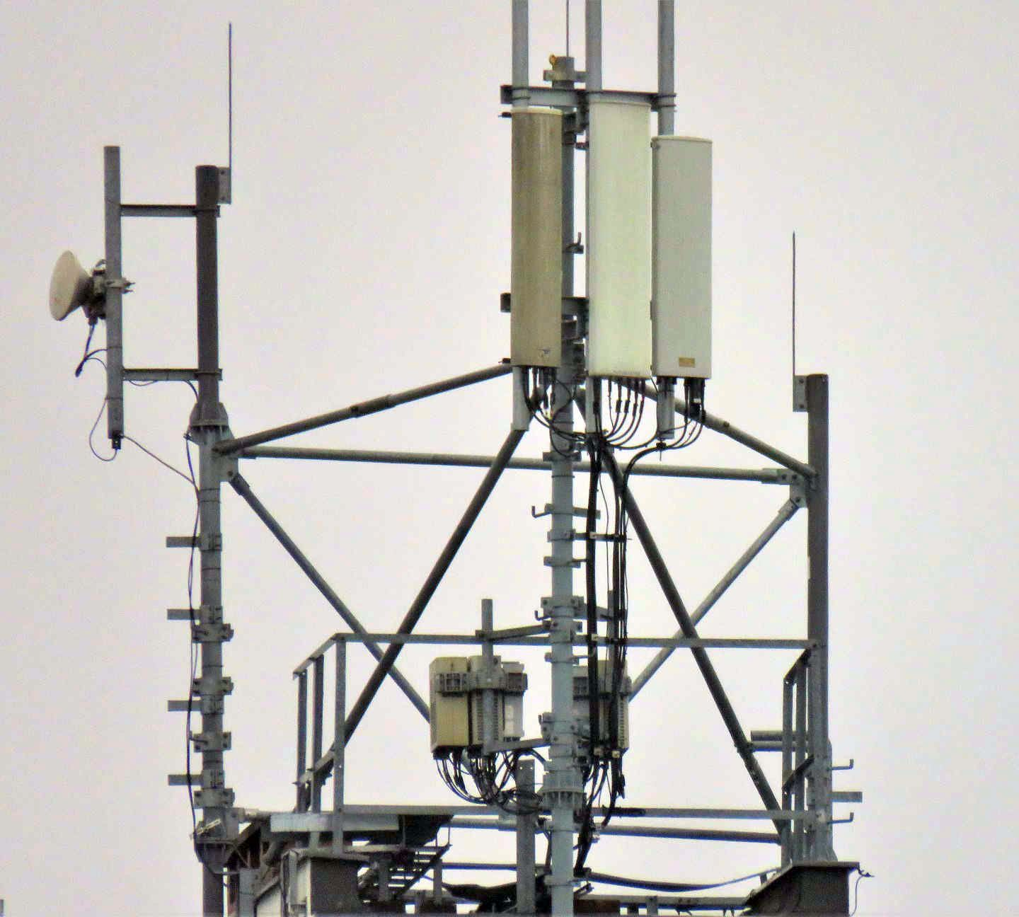 closeup of Orange and T-Mobile Poland High Capacity Equipment