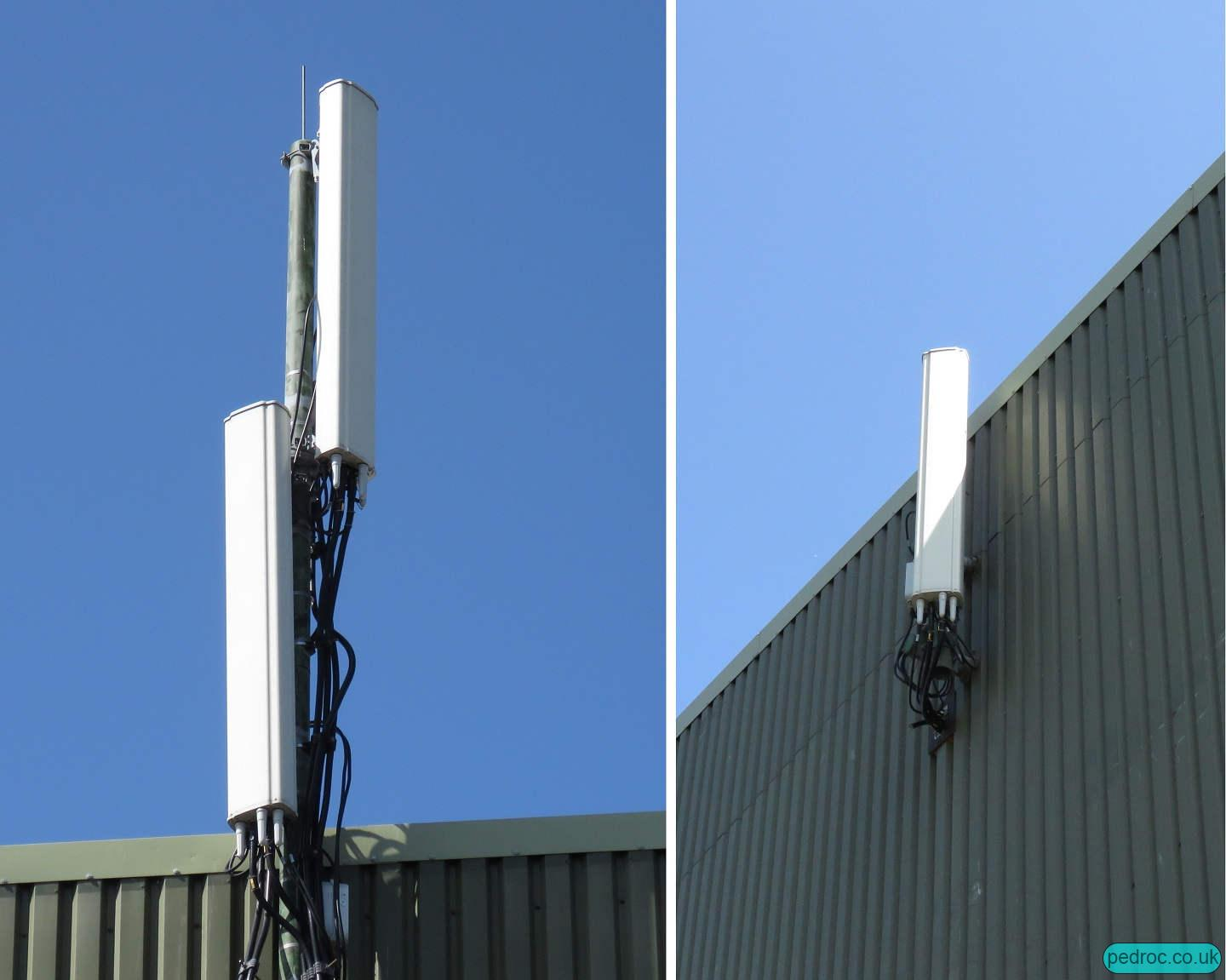 Mountain view innovation centre sure mast