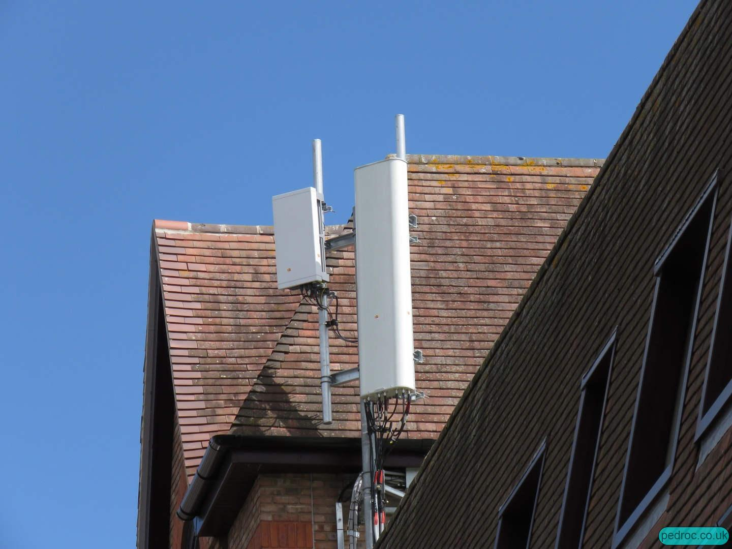 Vodafone Ericsson 5G site in Newbury