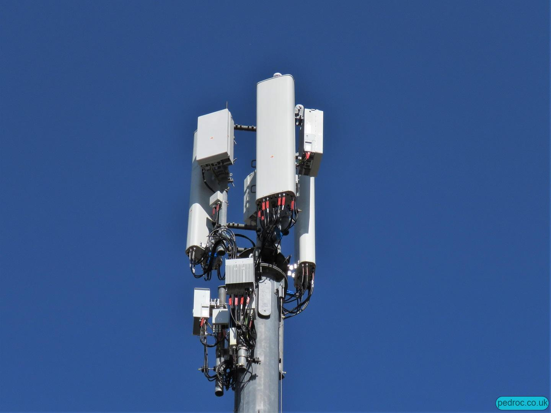 Vodafone Huawei 5G site near Manchester