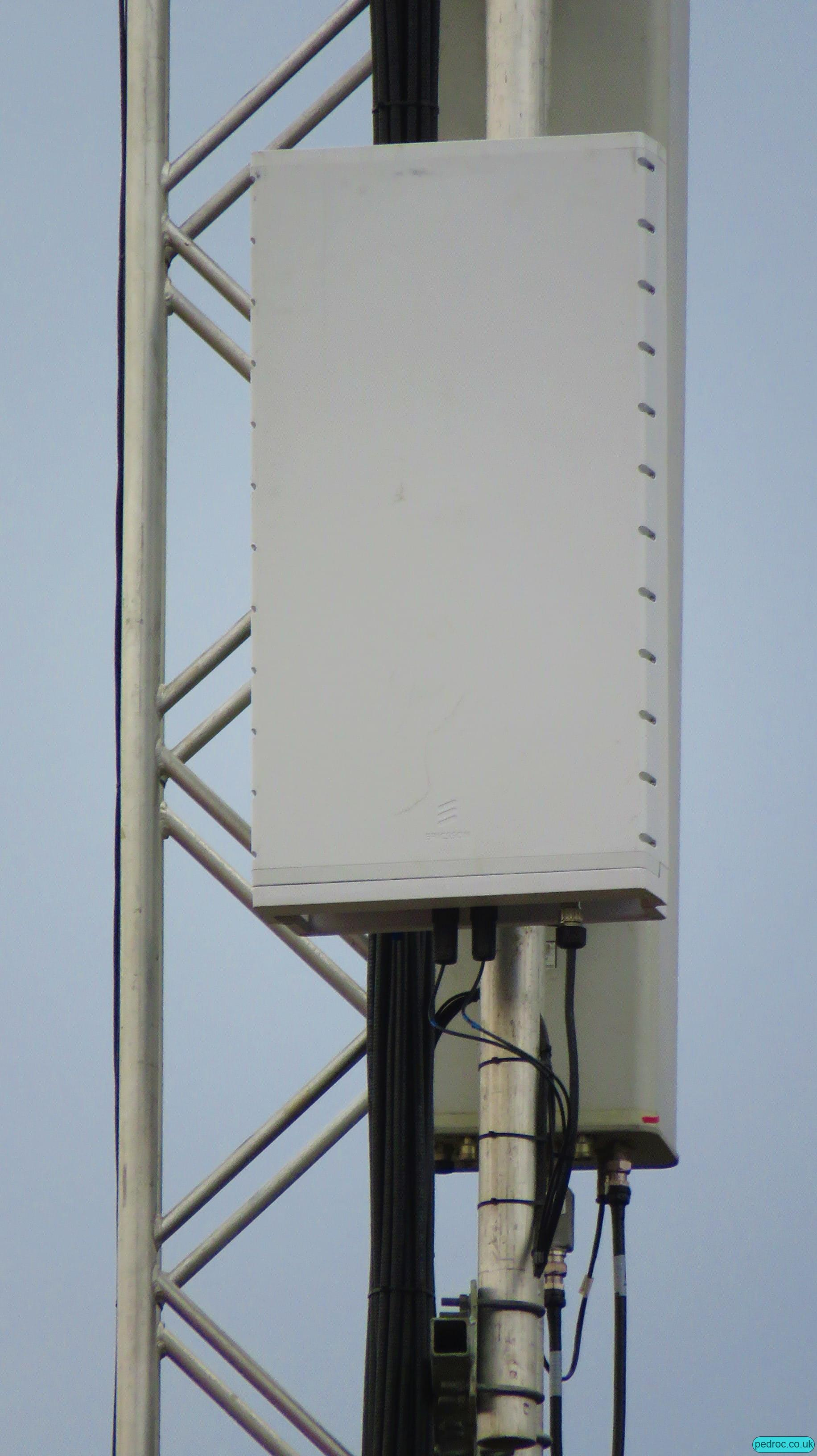 Vodafone UK's Ericsson Massive MIMO panel